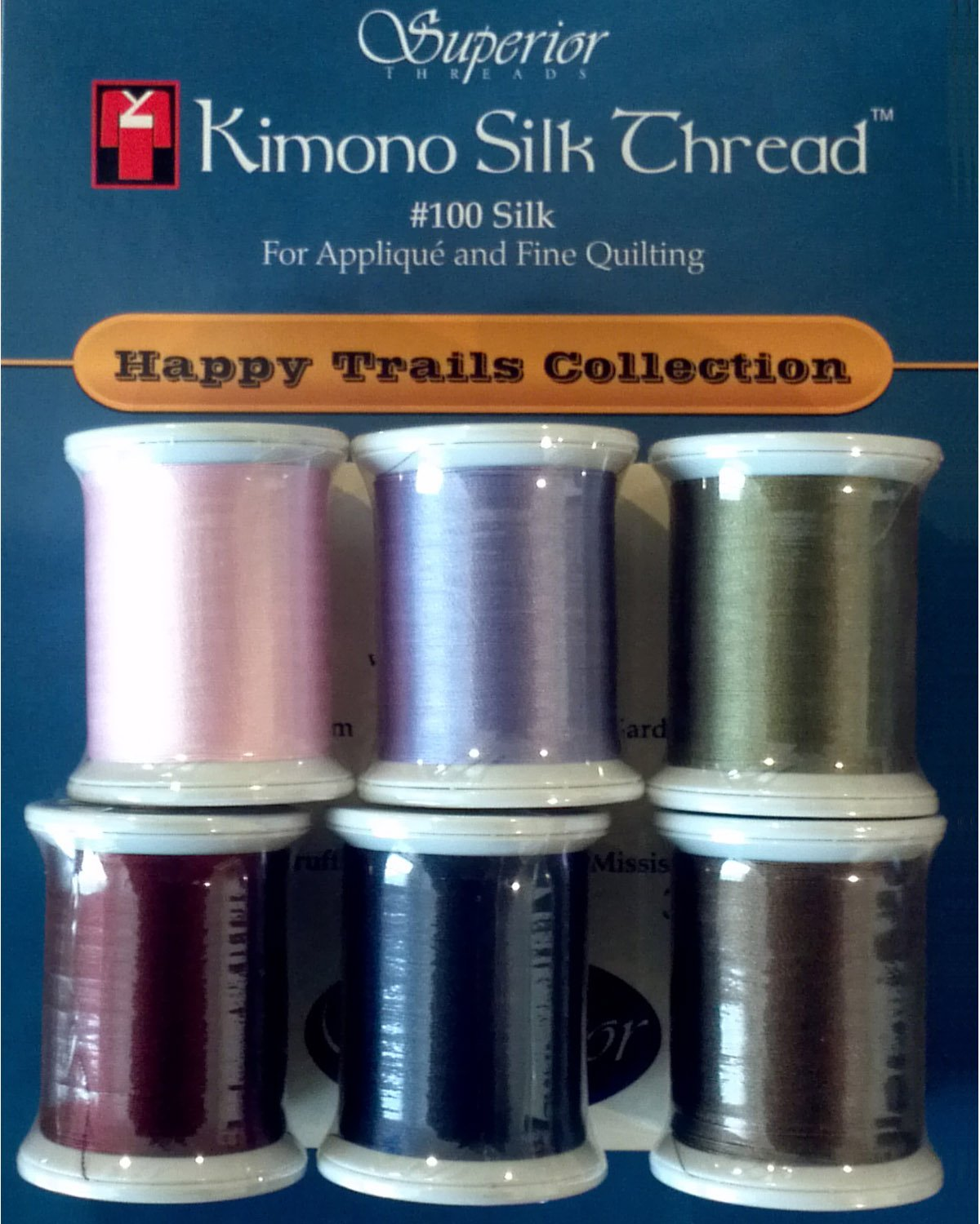 P3-1917  Happy Trails Kimono Silk Threads Collection