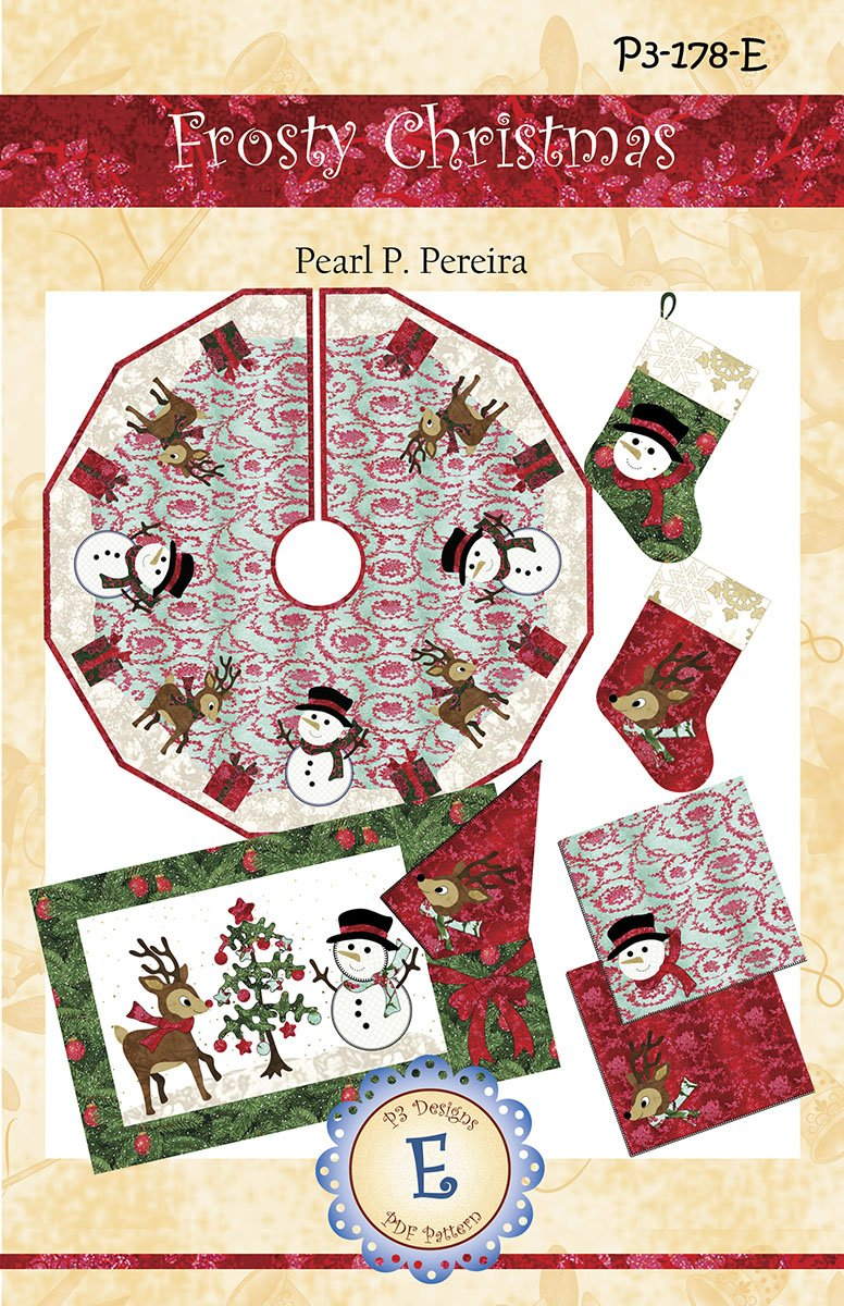 P3-178-E Frosty Christmas E-Pattern