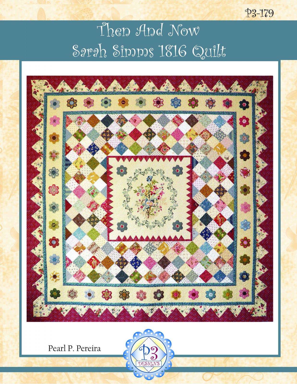 P3-179 Sarah Simms 1816 quilt