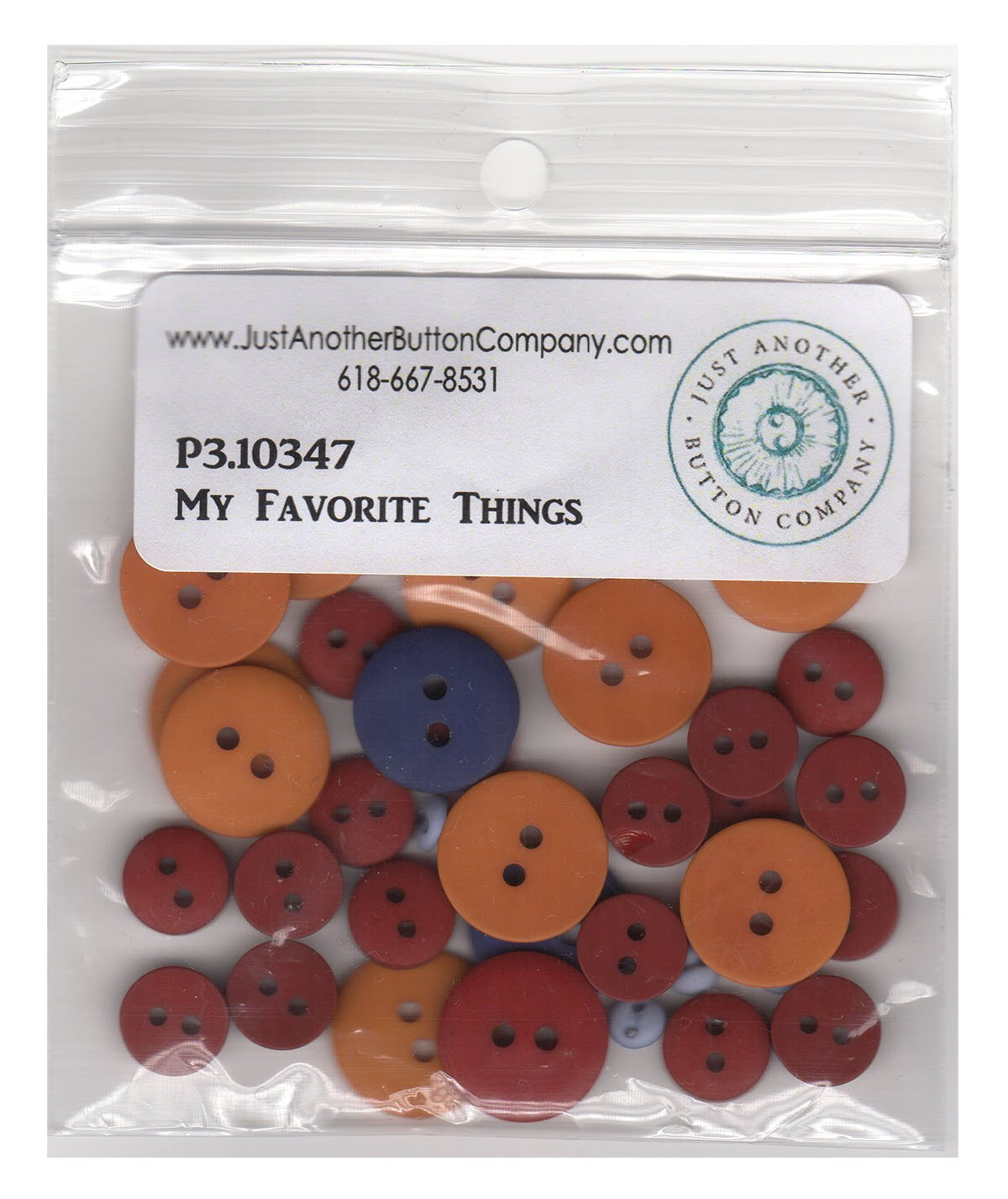 P3-180-1 All My Favorite Things - Button Set