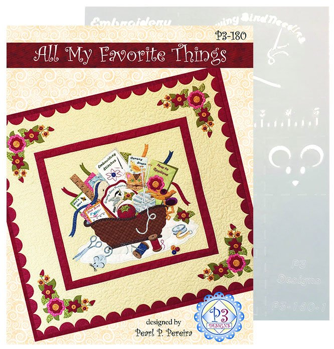 P3-180 All My Favorite Things Wall-Hanging