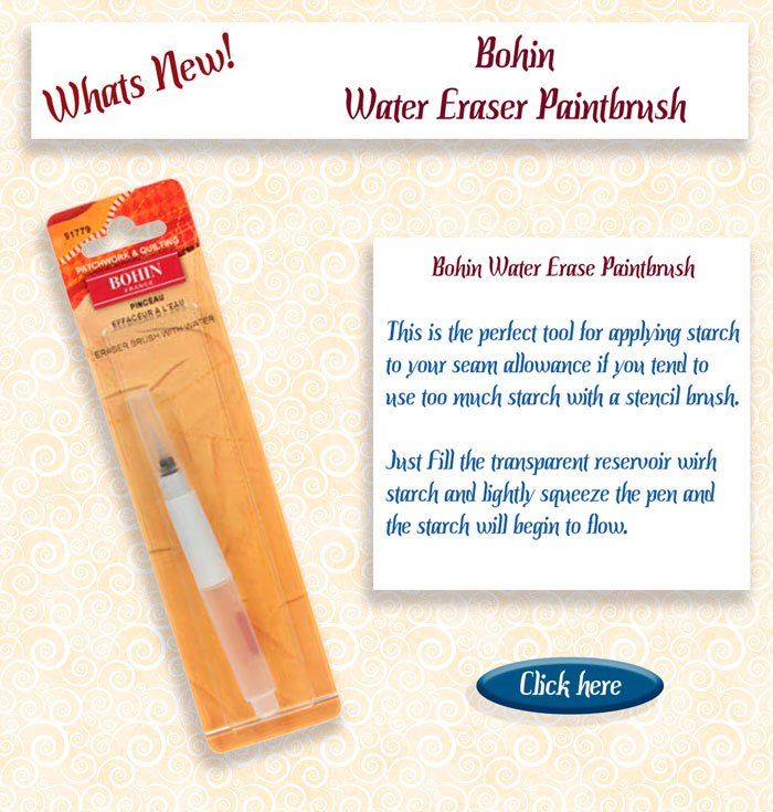 water starch brush