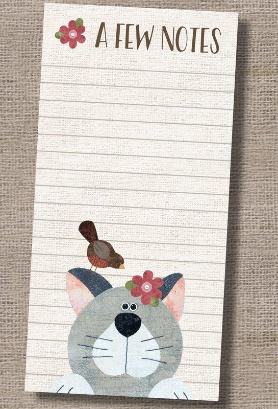 P3-510 Cat Note Pad