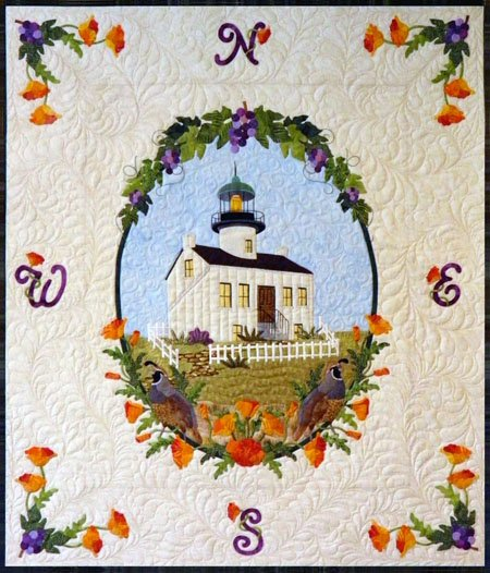P3-168 Old Point Loma Light Wall-Hanging