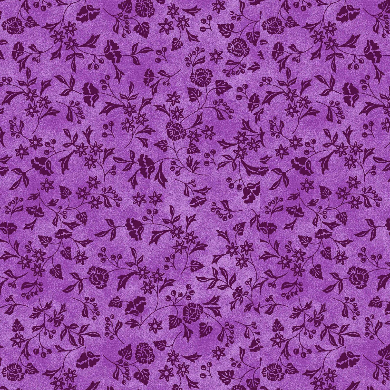 P3-467 Baltimore Spring Purple Tonal Vine