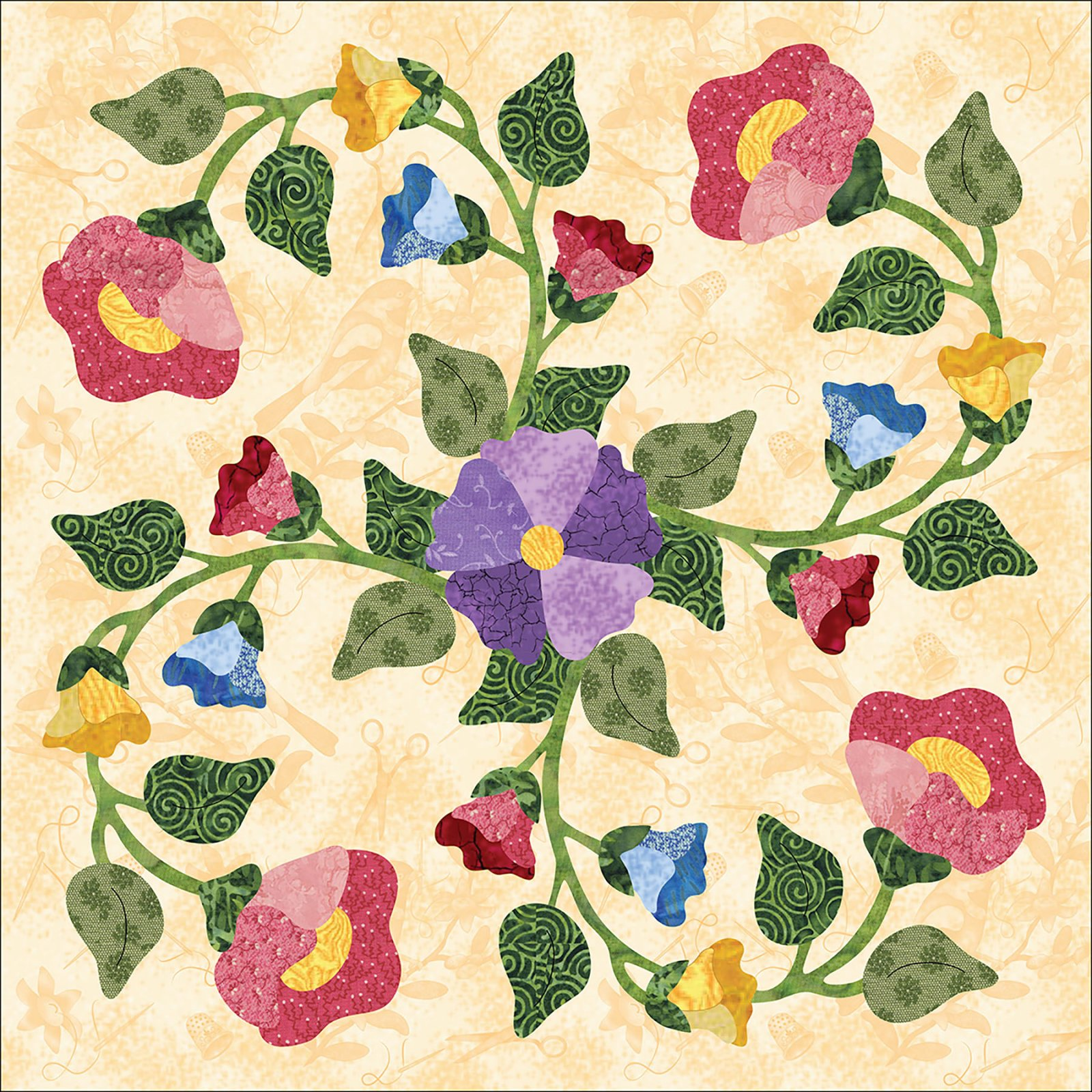 P3 2107 Forever Blooming Blk 7 Rose Vine Download