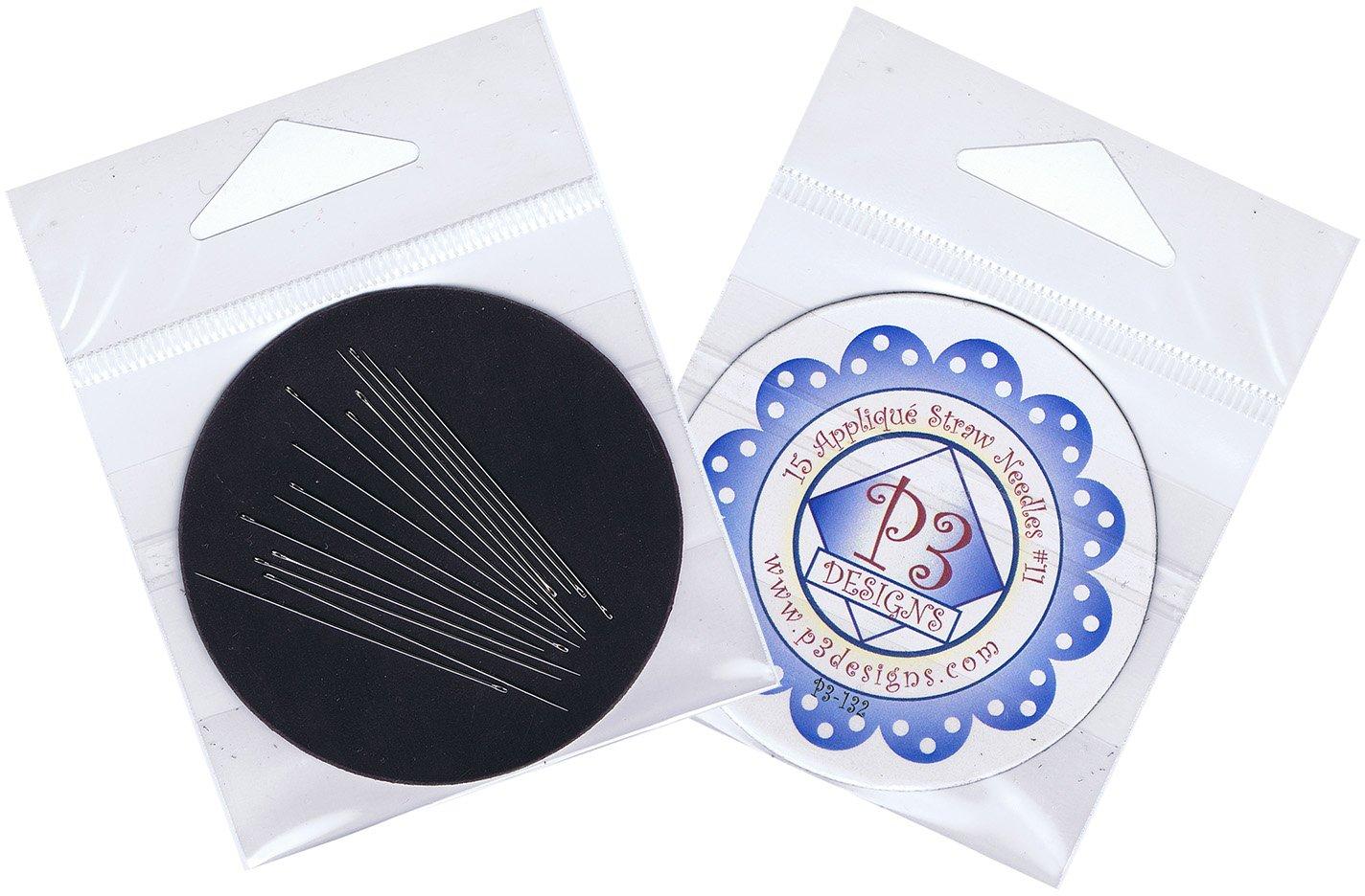 P3-132 Applique Straw Needles #11 & Needle Magnet