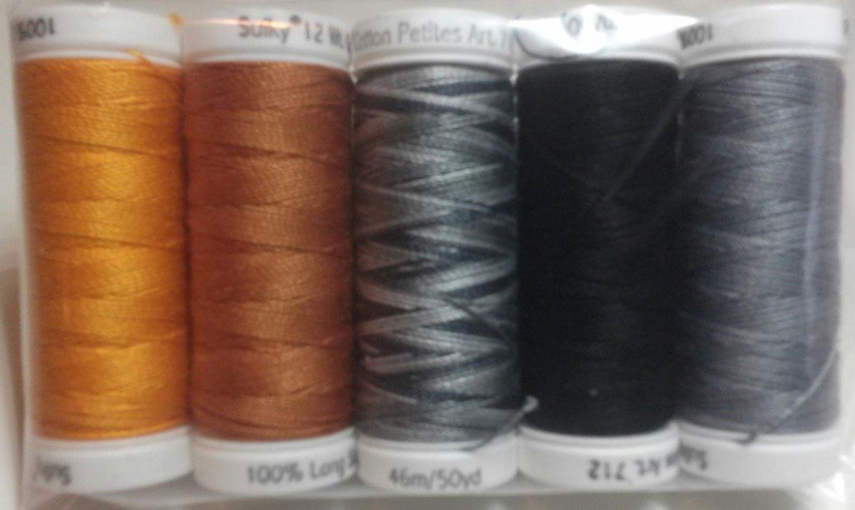 P3-1316 Baltimore Halloween Sulky 12wt Thread Set
