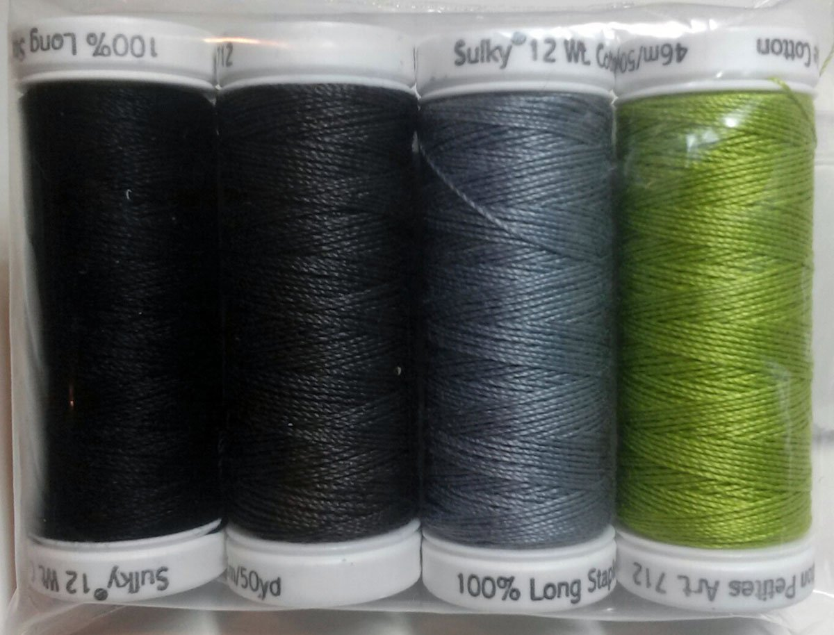 P3-171-5 Spring Bouquet Sulky 12wt Thread Set