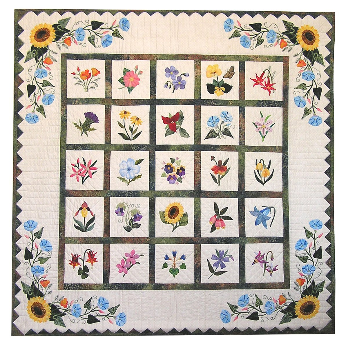 P3-140 Wildflower Wall-Hanging