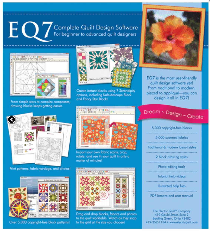 Eq7 Quilt Designing Software 1501606961