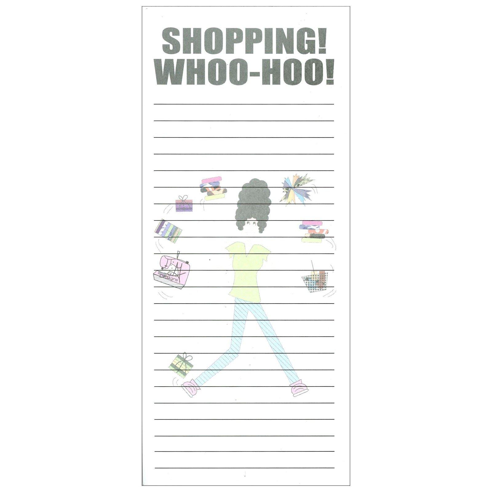 Magnetic Shopping List