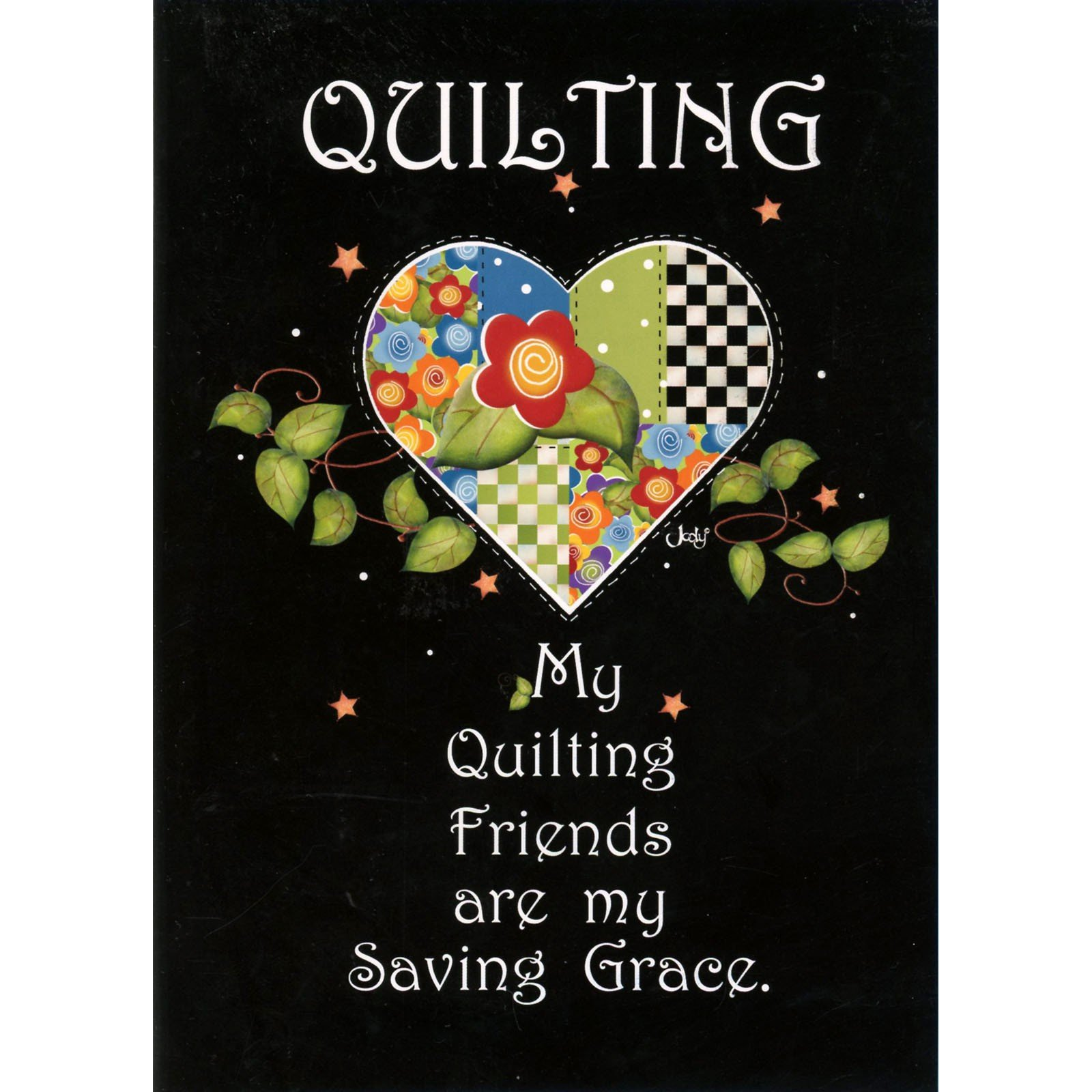 Greeting Card-  Quilting Friends