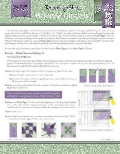Technique Sheet - Picket & Quickets