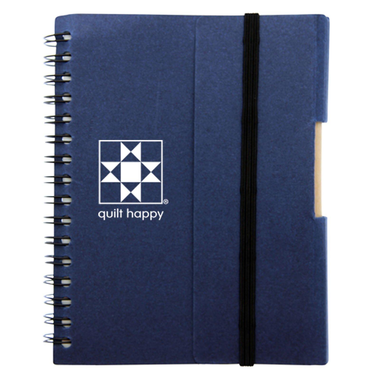 Earth Happy Journal Blue