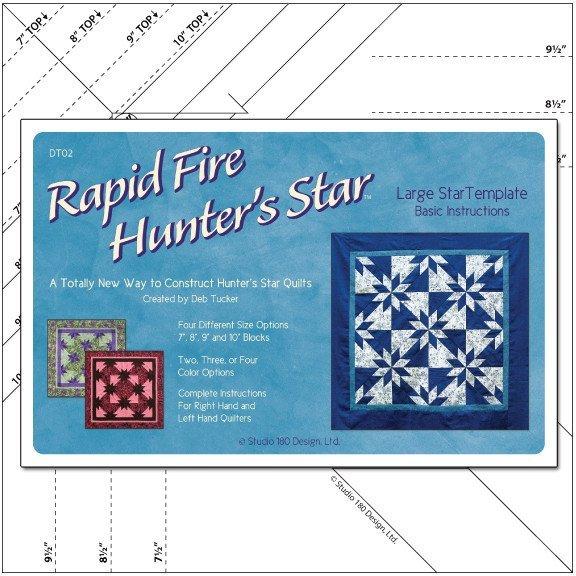 Rapid Fire Large Hunter's Star Ruler