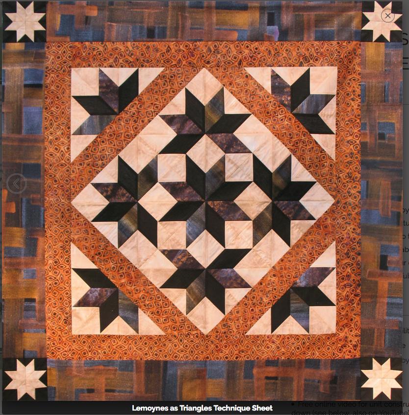 Technique Sheet - Lemoynes as Triangles