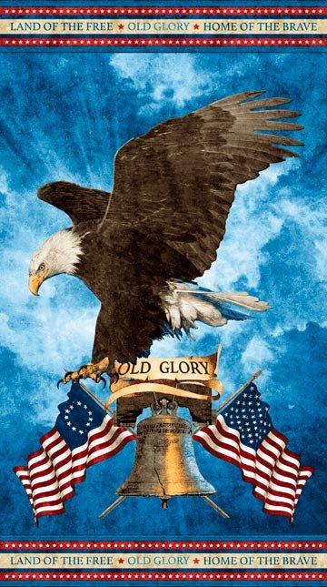 Stonehenge Land of the Free -  Panel 39338 Old Glory
