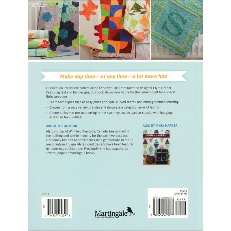 Nap and Nod By Myra Harder - 12 Adorable Baby Quilts