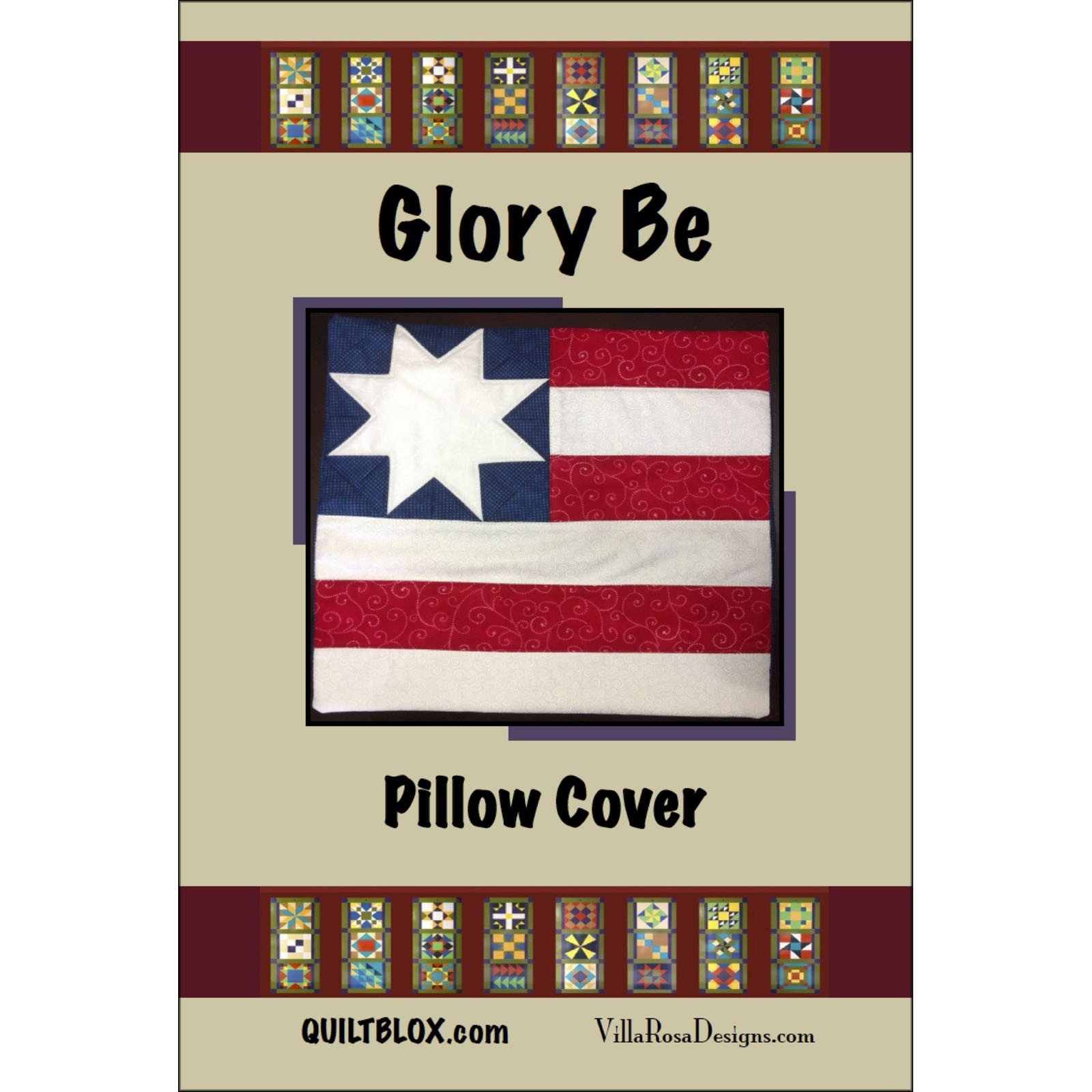 Glory Be Pillow Cover