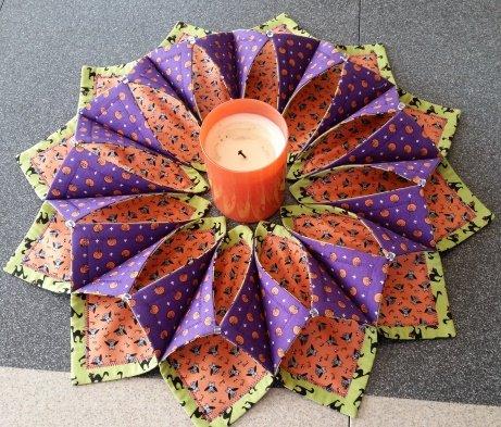 FOLD N STITCH WREATH Gorgeous Fold And Stitch Wreath Pattern