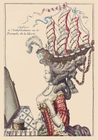 Marie Antoinette French General Panel FG JV005