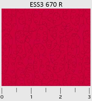Bear Essentials 3 Scibbles Red ESS3-670-R