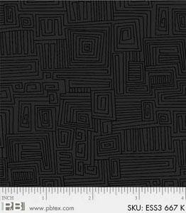 Bear Essentials 3 Maze Black ESS3-667-K