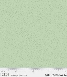 Bear Essentials 3 Swirl Dots Sea Foam ESS3-669-M
