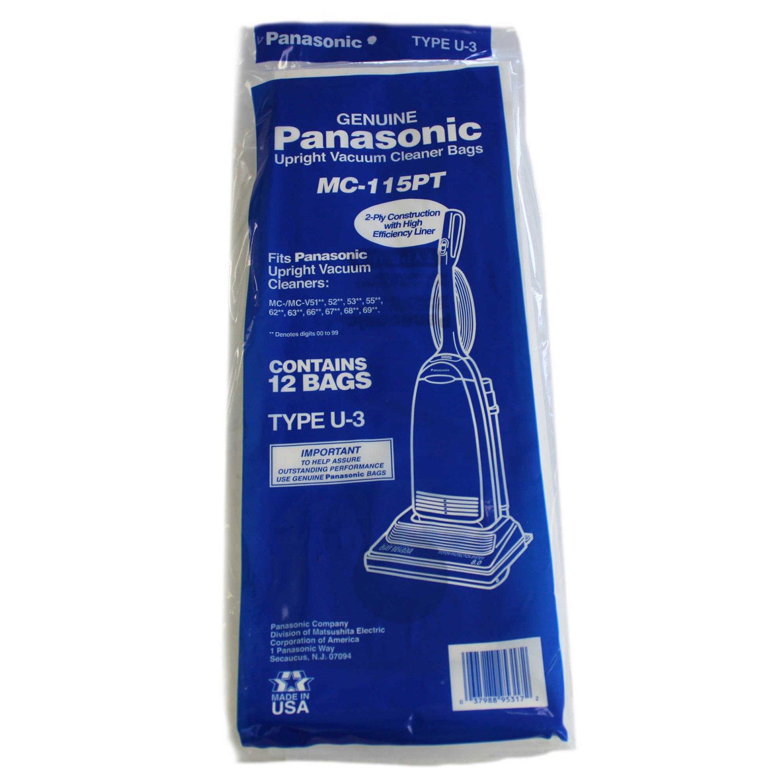 ***NLA*** Panasonic Type U-3 12 bags