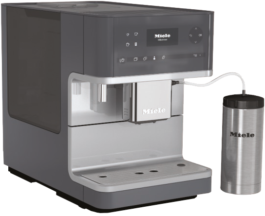 Miele CM6150 Countertop Coffee Grey