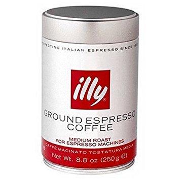 illy GROUND ESPRESSO COFFEE MEDIUM ROST
