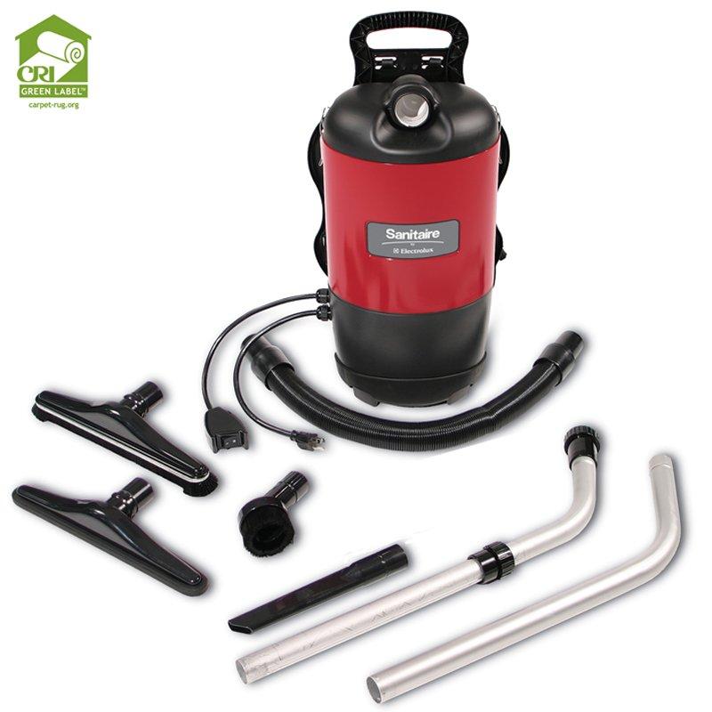 Sanitaire Backpack Vacuum,  1-1/2 Tools 50' Cord BV2 Bag