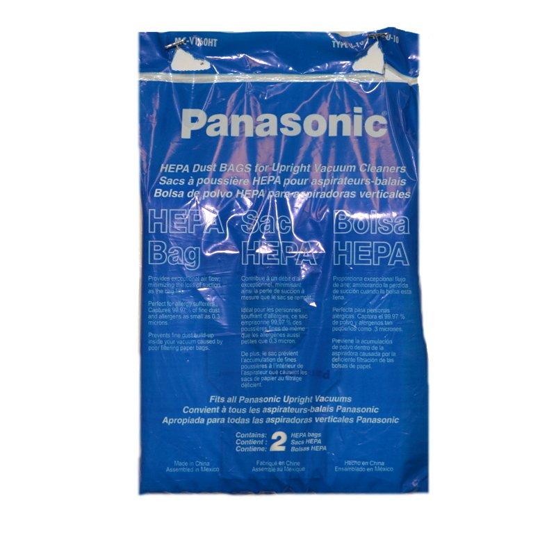 Panasonic Type U-10 Hepa Bags   2 Pack