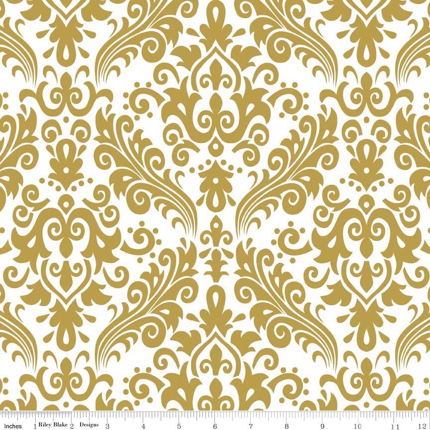 Sparkle Medium Damask Gold SC820-52