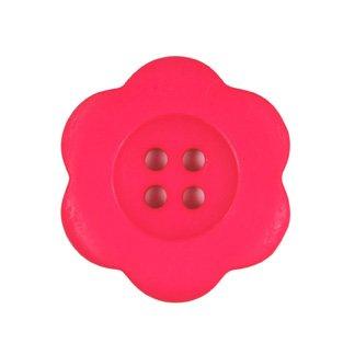 """1 1/2"""" Hot Pink Matte Flower"""