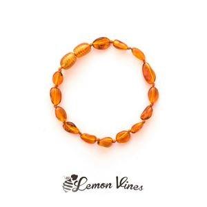 Lemon Vines Amber Baby Bracelet (14cm)