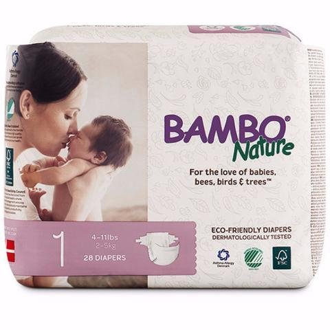 Bambo Nature Eco Friendly Disposable Diaper