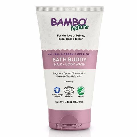 Bambo Bath Buddy Hair & Body Wash