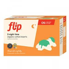 Flip Organic Night Time Inserts (2 pack)