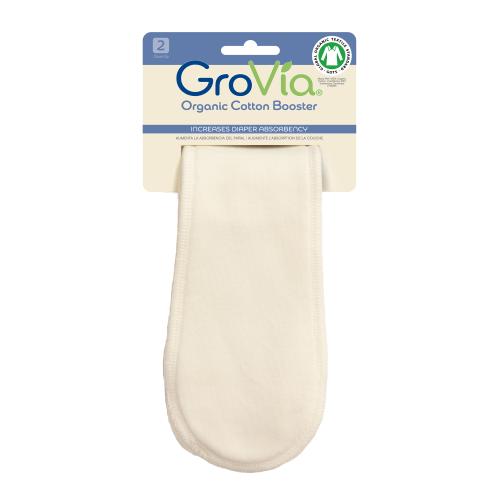 Grovia Organic Cotton Booster (2 Pack)