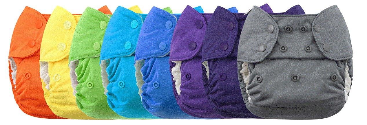Blueberry Capri Newborn Diaper Cover