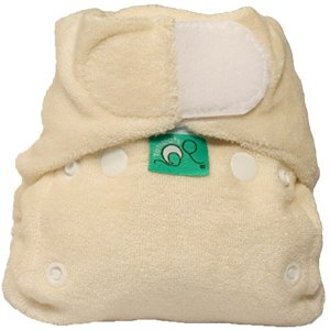 Tots Bots Bamboozle Stretch Fitted Diaper
