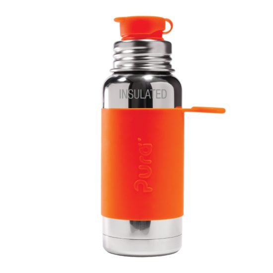 Pura Big Mouth Sport Vacuum Insulated Bottle with Sleeve