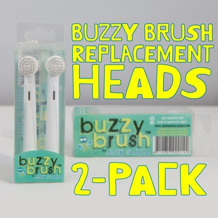 Jack N Jill Buzzy Brush Replacement Heads 2pk