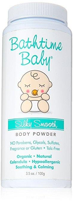 Bathtime Baby - Silky Smooth Body Powder