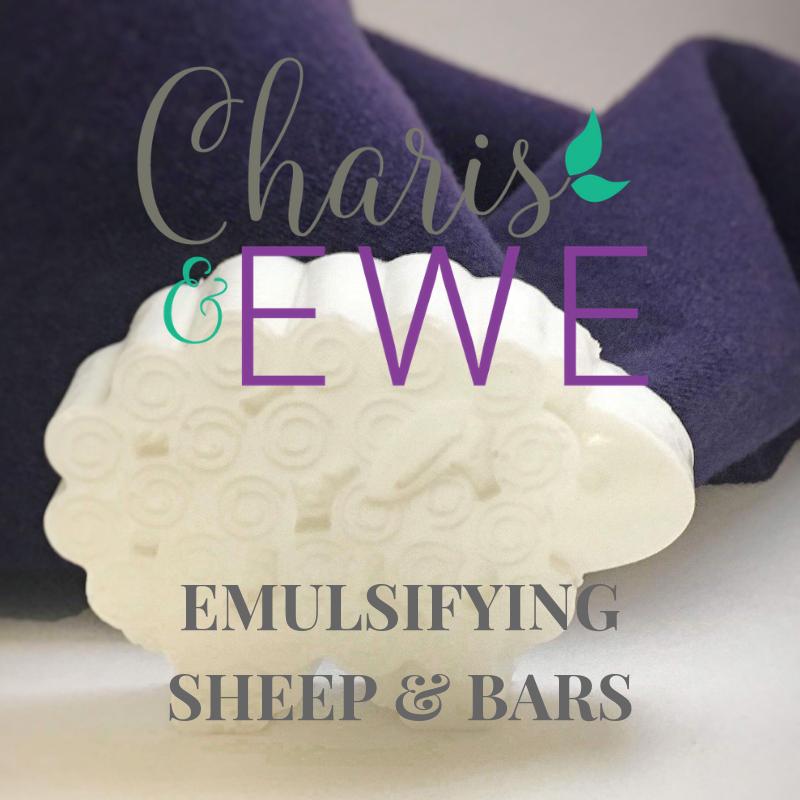 Charis 'N Ewe Lanolin Emulsifying Soap (Ebars)