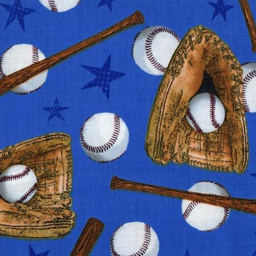 Fabri-Quilt Fresh Allstars Baseball 112-31061