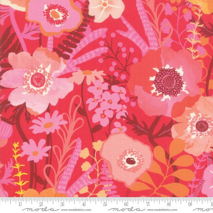Moda | Botanica 11840 14 Geranium Floral by Crystal Manning