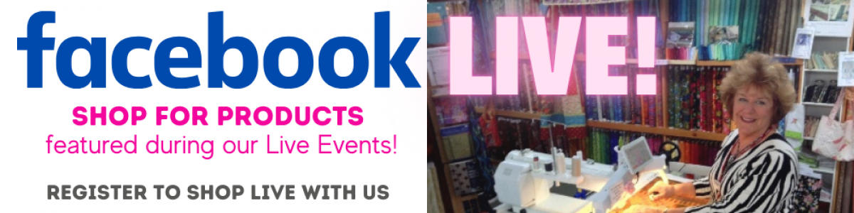 Shop for Facebook Live Products